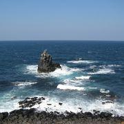 壱岐を代表するダイナミックな海蝕断崖