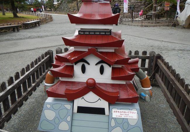 鶴ヶ城のゆるキャラ!?