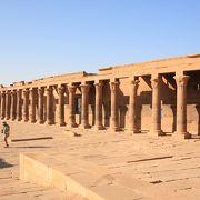 イシス神殿も移築された