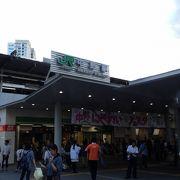 北口前は、大きな広場になっているので、時期によっては、イベントを行っています。