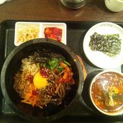デパートで韓国料理~