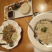 フィリピン料理のほかにイタリアンもやってます(多国籍)