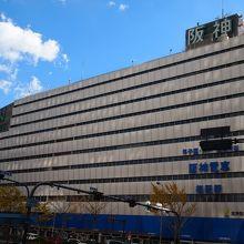 阪神電車の駅ビル