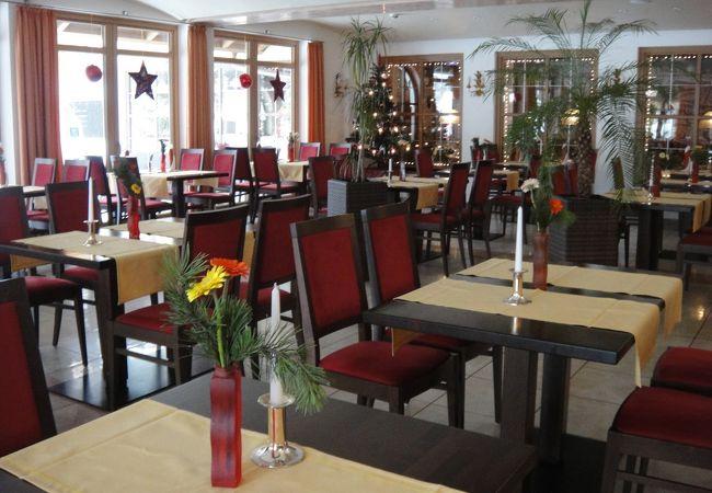 雰囲気のよいホテルレストラン