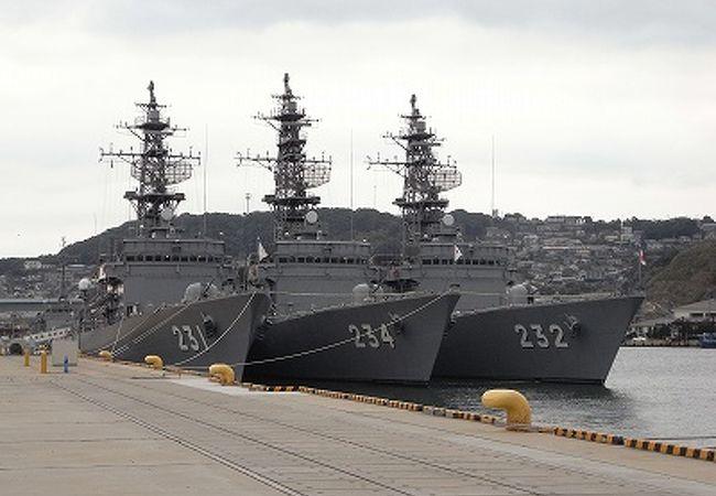 倉島岸壁海上自衛隊艦艇一般公開