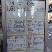 金瓜石行きバス停移動。