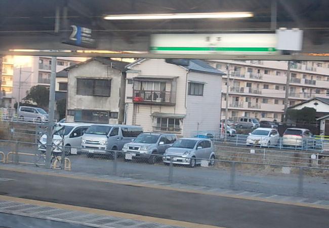 見所の多い駅です