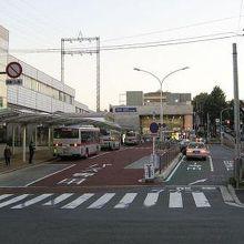 バス乗り場です。