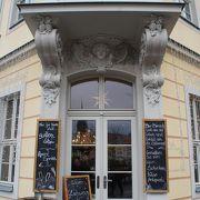 ドレスデンのカフェと言えばアイアーシェッケが有名なここ!