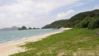 ウミガメが見られるビーチ