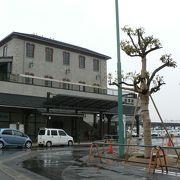 長浜観光の拠点、JR長浜駅