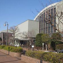総合庁舎の一部