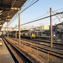横浜線のホーム