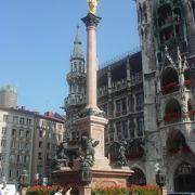ミュンヘン観光の中心