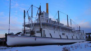博物館にもなっている(冬季休館)、大型の船!