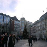 ブレーメンの旧市街の中心地