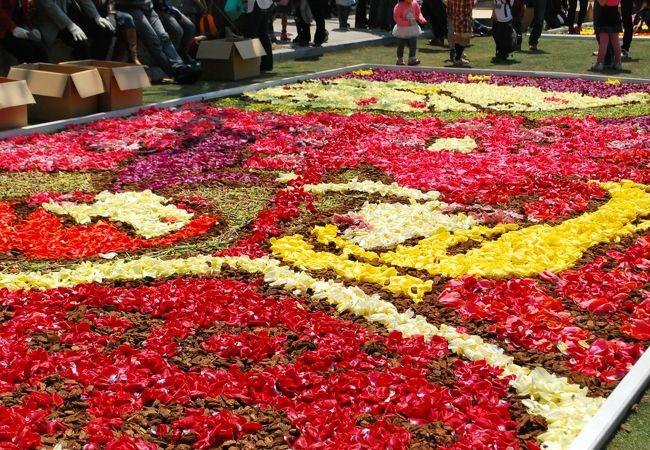 震災復興 GW神戸の街は花で飾られます