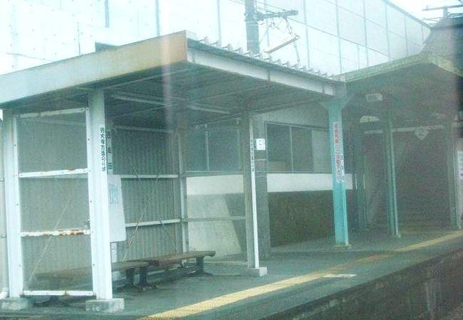 筑後市、西牟田駅