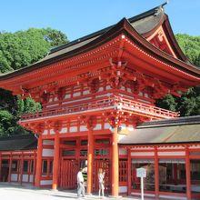 賀茂御祖神社(下鴨神社)国宝の本殿はなかなか見られません