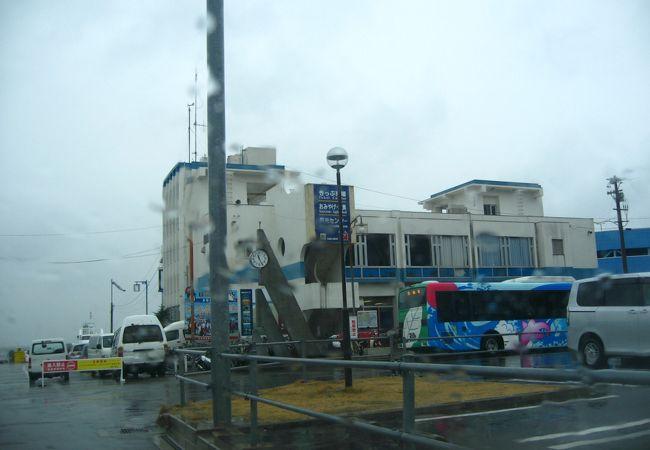 日間賀島、篠島への船乗り場