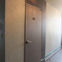 廊下はマンションのような感じになっています。