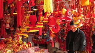 上海で一番旧正月らしさが見れる場所。