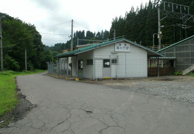 津軽湯の沢駅