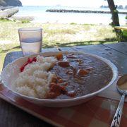 島に唯一と言っていいくらいの食事処