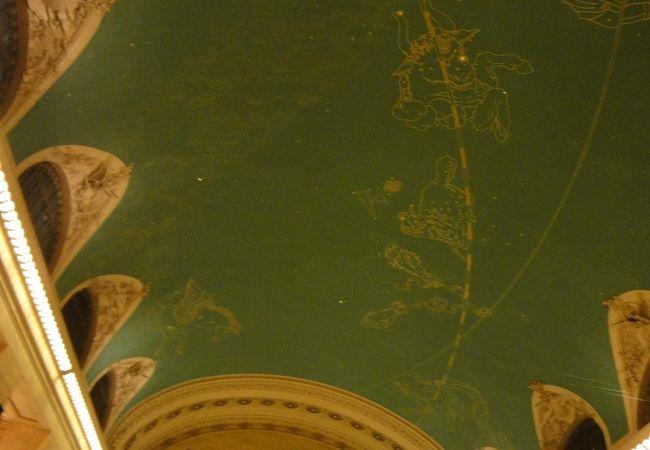 星座の天井。