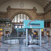 ヨーロッパ最大規模の駅のショッピング街