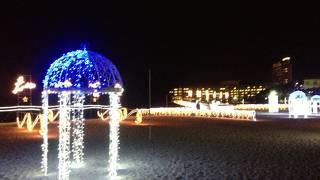 白良浜イルミネーションイベント 白砂のプロムナード