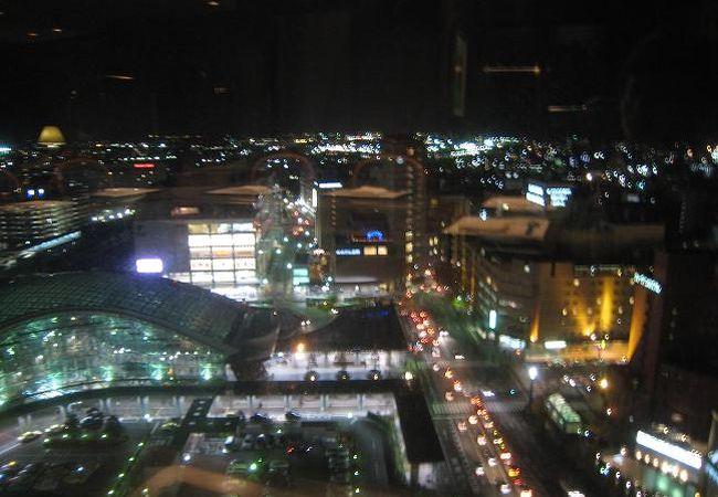 金沢の夜景を見ながらのディナー