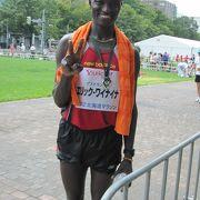 真夏のフルマラソン