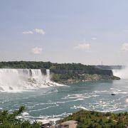 アメリカ滝とカナダ滝を分ける島