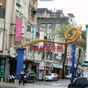 電子街の近くの商店街