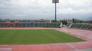 山梨中銀スタジアム (小瀬スポーツ公園陸上競技場)