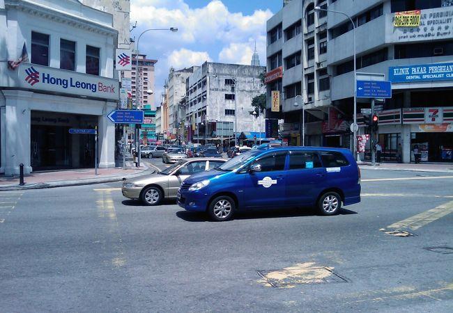 青色タクシー