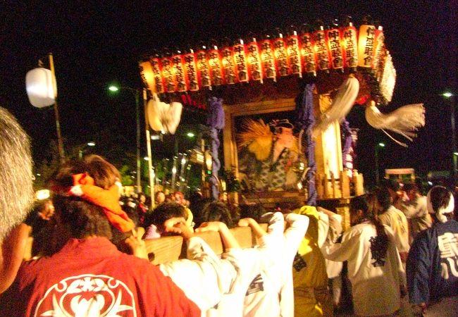 寒河江まつり 神輿の祭典