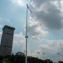 大きな国旗です