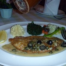 ドーリーフィッシュ(白身魚)のソテー