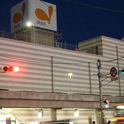 バスセンターにあるショッピングモール