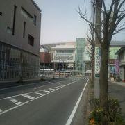 たまプラーザ駅とテラスは近代的な一体型施設です