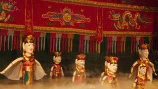 ロンヴァン水上人形劇 (ゴールデン ドラゴン 水上人形劇場)