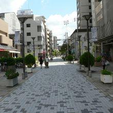 伊丹市景観計画の重点区域に指定されている伊丹酒蔵通り