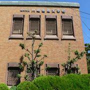パネルやビデオで川端康成の作品と生涯を紹介する茨木市立川端康成文学館(かわばたやすなりぶんがくかん)