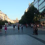 近代都市ドレスデンのメインストリート