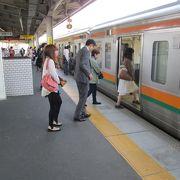 名古屋駅から30分程度で到着