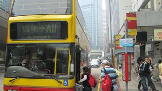 香港国際空港までバスで行く