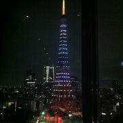 眼前の東京タワーが圧巻の窓側ペアシート