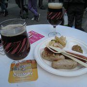 立ち飲みスタイルでおいしいベルギービールが飲める!
